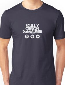 Scully - Gibson - Du Maurier Unisex T-Shirt