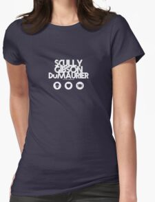 Scully - Gibson - Du Maurier Womens Fitted T-Shirt