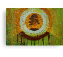Tears for the last tree Canvas Print
