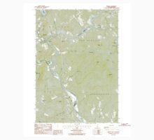 USGS TOPO Map New Hampshire NH Bristol 329490 1987 24000 One Piece - Short Sleeve