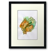 Be closer to nature, be closer to each other Framed Print