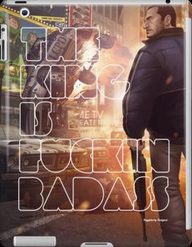 The King Is Badass! (Nico Bellic) by fuggleberry
