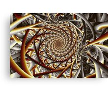 Tangled Tape Canvas Print