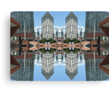 manchester central 2 Canvas Print