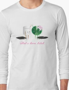 Marshmellow and Lilypad Long Sleeve T-Shirt