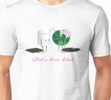 Marshmellow and Lilypad Unisex T-Shirt