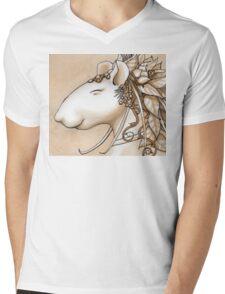 Nature Girl Mens V-Neck T-Shirt