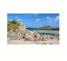 St Agnes, Isles of Scilly Art Print