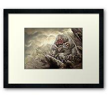 Earth Giant Framed Print