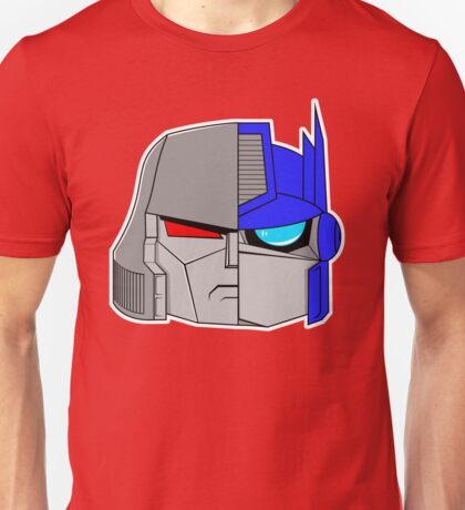 Little Megatron and Little Optimus Unisex T-Shirt