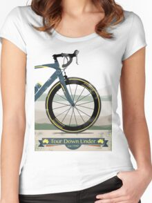 Tour Down Under Bike Race Women's Fitted Scoop T-Shirt