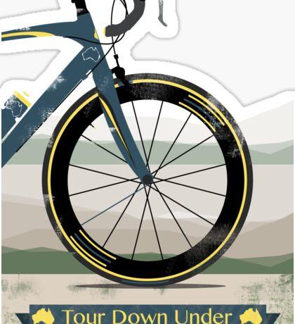 Tour Down Under Bike Race Sticker