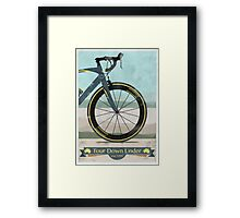Tour Down Under Bike Race Framed Print