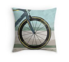 Tour Down Under Bike Race Throw Pillow