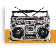 Boom Box! Canvas Print