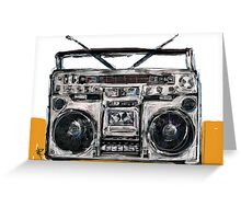 Boom Box! Greeting Card
