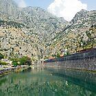 City walls of Kotor, Montenegro by JenniferLouise