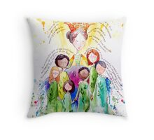 Isaiah 61 Woman Throw Pillow