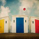 Huts And Balloons by ajgosling