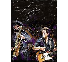 The Boss and The Big Man Photographic Print