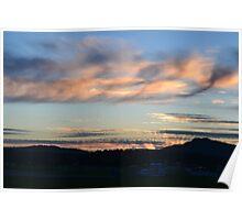 Montana Sunset Poster