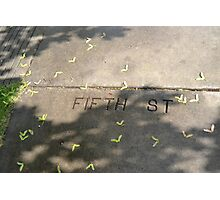 Fifth St Photographic Print
