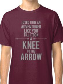 Knee to the Arrow Classic T-Shirt