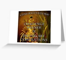 DAC Challenge Winner Banner Greeting Card
