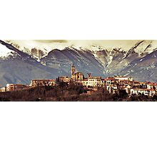 Castel Frentano  Photographic Print