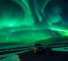 Aurora Borealis by Arjuna Ravikumar