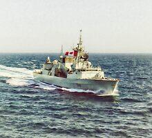 HMCS Toronto by Shawna Mac by Shawna Mac