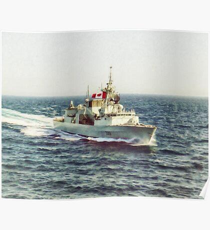 HMCS Toronto by Shawna Mac Poster