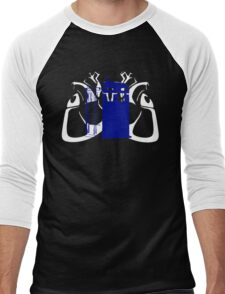 TARDIS Hearts Men's Baseball ¾ T-Shirt