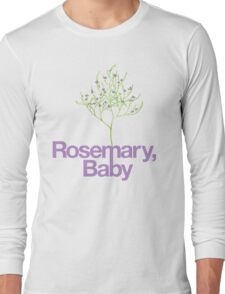 Rosemary, Baby Long Sleeve T-Shirt
