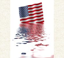 Stars and stripes reflect in water Hoodie