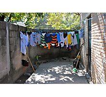 wash day Photographic Print