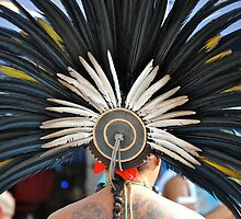 Aztec Dancer by richard  webb