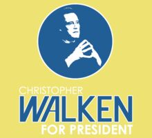 Christopher Walken For President Baby Tee