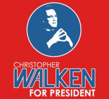 Christopher Walken For President One Piece - Short Sleeve