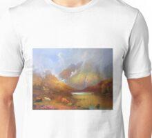 The Little Croft In The Scottish Highlands Unisex T-Shirt