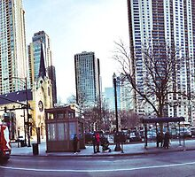 Chicago Panorama by kalikristine