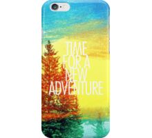New Adventure iPhone Case/Skin