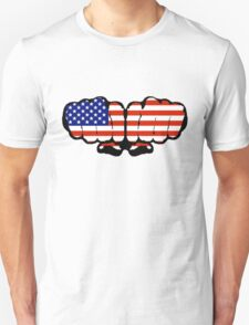 US Fists Unisex T-Shirt