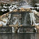 winter waterfall by wolf6249107