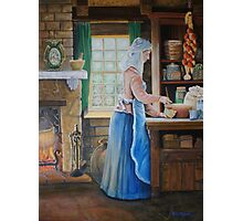 The Cook Finished & Signed Photographic Print