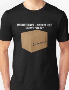 The White Knife vs Midnight Mike Unisex T-Shirt