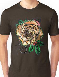 yellow tattoo rose Unisex T-Shirt