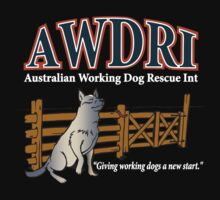AWDRI Tee. Dark Colours. T-Shirt