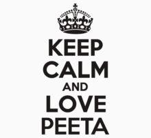 Keep Calm and Love PEETA Kids Clothes