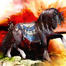 Kachina Hopi Native American Horse by Shanina Conway